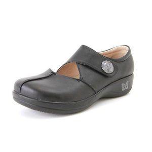 Alegria Black Kaitlyn Pro Leather Shoes Kai-601 39